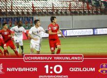 Match Highlights. FC Navbahor 1-0 FC Kizilkum