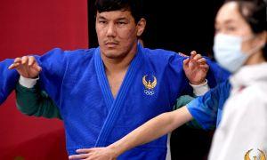 Бекмурод Олтибоев провёл схватку с Олимпийским чемпионом
