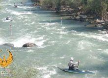 Подготовка к Азиатским играм по гребному слалому продолжается на реке Угам