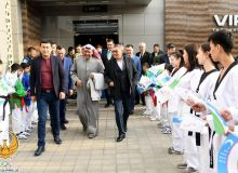Olympic Council of Asia President Ahmed Al-Sabah makes a visit to Uzbekistan