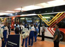 Паралимпийцы прибыли в Джакарту