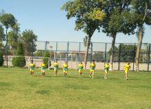 Женская сборная Узбекистана U-19 в ходе УТС проводит контрольные матчи