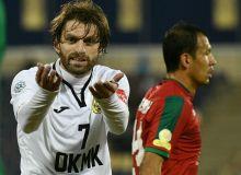 FC Lokomotiv play a 1-1 draw with FC AGMK in Almalyk