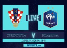 Хорватия - Франция: Матнли трансляция