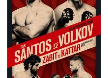 UFC Москвадаги турнири учун расмий постерини тақдим этди