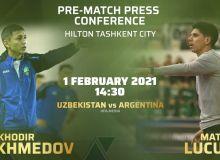 Главные тренеры сборных Узбекистана и Аргентины по футзалу примут участие в пресс-конференции