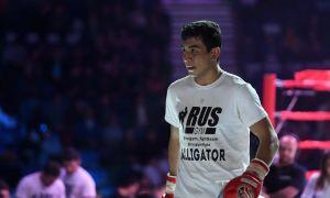 Sher Mamazulunov defeats Maksim Zaplitniy of Moldovia in Minsk