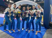 Представительницы сборной Узбекистана по художественной гимнастике приняли участие в Московском Гран-При