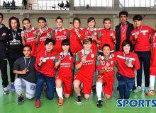 Lokomotiv-W claim bronze medals in Uzbekistan Women's Futsal Championship