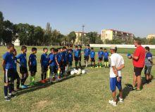 Ознакомление с работой детско-юношеских академий в Ташкентской области