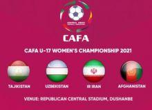 """Завтра в Душанбе стартует """"CAFA U-17 Women´s Championship 2021""""."""