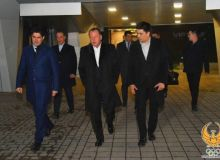 Президент международной федерации дзюдо Мариус Визер прибыл в Ташкент