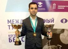 Представитель Узбекистана стал победителем международного турнира по шахматам среди слабослышащих