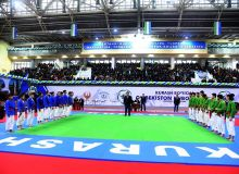 Photo Gallery. Uzbekistan Kurash Championship launched in Chirchik