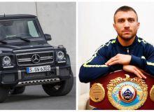 Vasiliy Lomachenko garajidan qanday qimmatbaho avtomobillar o'rin olgan?