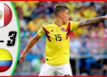 Перу - Колумбия 0:3 (видео)
