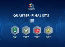 AFC Champions League (West): Quarter-finalists confirmed