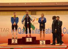 Muattar Nabieva earns three gold medals at the Qatar International Weightlifting Cup