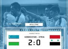Национальная сборная Узбекистана одержала победу благодаря дублю Эльдора Шомурадова