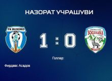 FC Sogdiana receive a 1-0 defeat from FC Bukhara
