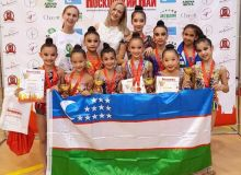 "Uzbekistan's junior gymnasts take part in the ""Moskovsky May"" International Gymnastics Tournament"