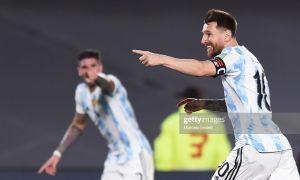 """ЖЧ-2022"" саралаши. Аргентина Уругвайни енгди, Бразилия Колумбия билан дуранг ўйнади"