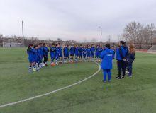Женская сборная Узбекистана U-20 начала сбор в Алмалыке