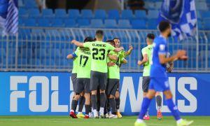 АГМК успешно выступил против фаворита турнира и заработал очки в дебютном матче Лиги чемпионов АФК (Видео)