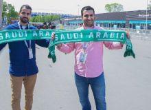 Россия - Саудия Арабистони. Мухлисларнинг стадионга ташрифи бошланди (фото)