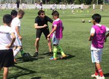 Тренеры «Реал Мадрида» проводят тренировки по методике академии «Королевского клуба»