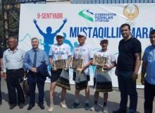 Массовый забег за независимость: В Ташкенте прошел марафон