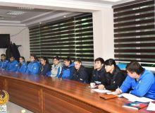 Прошла встреча с представителями национальной сборной по карате WKF Узбекистана