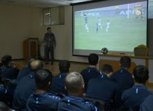 A seminar was organized for referees to analyze the matches of the past rounds of the Super League