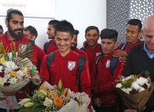 Сборная Индии одна из первых команд, которая прибыла в ОАЭ для участия в Кубке Азии-2019