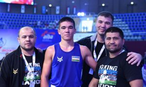 Four Uzbek boxers gain gold medals at the ASBC Asian Confederation Junior Boxing Championships