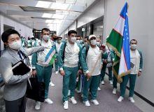 Делегация Узбекистана прибыла в Токио!