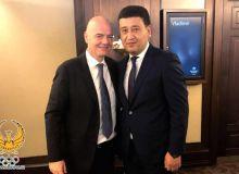 Тошкентда бунёд этиладиган ЎФАнинг янги биносига биринчи ғиштни FIFA Президенти Жанни Инфантино қўйиб беради