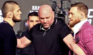 UFC президенти Хабиб ва Конор ўртасида реванш жанги бўлишига шаъма қилди