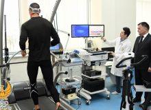 В Республиканском научно-практическом центре спортивной медицины гребцы Узбекистана проходят углубленный медицинский осмотр