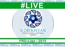 Про-лига 10-тур ўйинлари LIVE