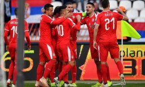 Сербия - Черногория 2:1 (видео)