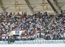 32 тысячи болельщиков пришли на стадион поддержать нашу команду в матче Узбекистан - Сирия