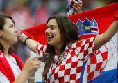 Хорватия - Англия ўйинига ташриф буюрган гўзаллар