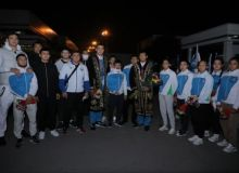 Participants of the World Judo Championship returned to the capital