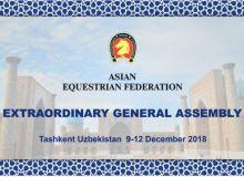 В Ташкенте проходит Генеральная ассамблея Азиатской федерации конного спорта