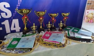 Есть первые чемпионы и призёры U-14 Women!