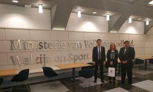 Официальные лица АФУ пребывают с рабочим визитом в Королевстве Нидерландов