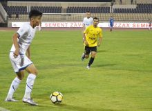 FC Neftchi earn a narrow 1-0 win over FC AGMK in Almalyk