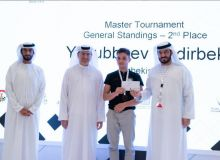 Uzbekistan's Nodir Yakubboev gains the second place at the Abu Dhabi International Chess Festival