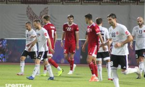 FC Navbahor resume the league a defeat to FC Kizilkum